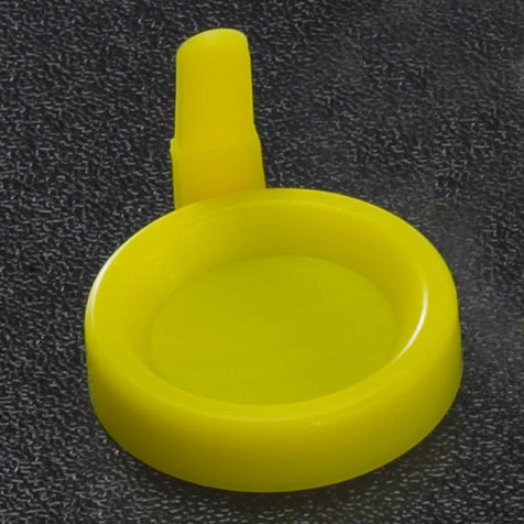 Snap Cap with Sanitary Grip for Flared Top Urine Tubes