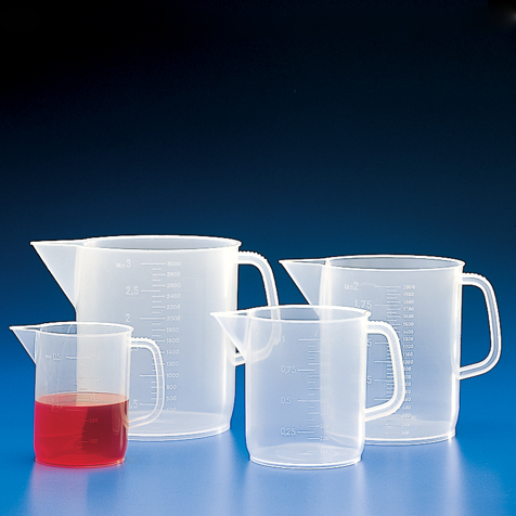 Pitcher, PP, Molded Graduations, 1000mL