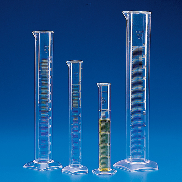 Graduated Cylinder, PMP, Molded Graduations
