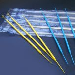 Inoculation Loop, Rigid, 1uL with Needle, with Calibration Certificate, STERILE, Blue, 20/Peel Pack, 25 Packs/Case