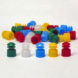 Cap, Flange Plug, 12mm, Yellow