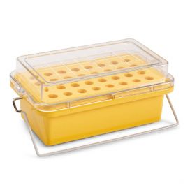 Mini Cooler, -20°C, 32-Place (4x8) for 1.5mL Tubes, Yellow
