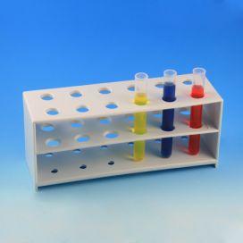 Rack, Tube, 12mm, 12-Place, PP, White