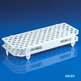Rack, Microcentrifuge Tube, 100-Place, PP, White