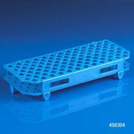 Rack, Microcentrifuge Tube, 100-Place, PP, Blue
