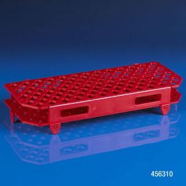 Rack, Microcentrifuge Tube, 100-Place, PP, Red
