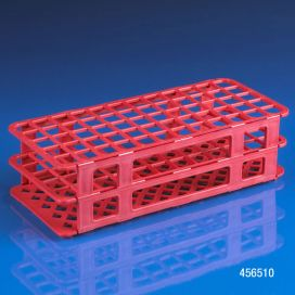 Rack, Tube, 16/17mm, 60-Place, PP, Red