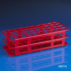 Rack, Tube, 25mm, 40-Place, PP, Red