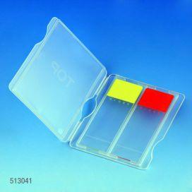 Slide Mailer, Polypropylene, for 2 Slides, Blue
