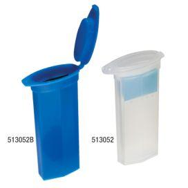 Slide Mailer, Polypropylene, Flip Top, for 2 slides, Blue