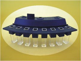 HITACHI: Cuvette, for use with the Hitachi 902 analyzer, 6/Set, 4 Sets/Unit (Note: New packaging) ** SPECIAL ORDER ITEM **