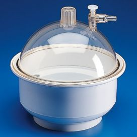 Desiccator, PP, Base with PC Lid, 250mm
