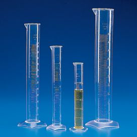 Graduated Cylinder, PMP (TPX), Molded Graduations, 2000mL