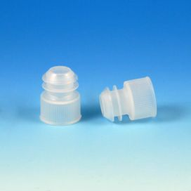 Cap, Plug, for 15mL Centrifuge Tubes, Natural