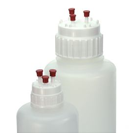 Aseptic Transfer Closure for Vacuum Bottle, White PP, 53mm