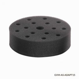 Tube Holder, Foam, for use w GVM Series 15 x 10mm Tubes, Must use w VM-AS-PLATE/GVM-AS-ROD