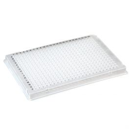 384-Well PCR Plate, A24 Single Notch design (ABI-Style), Clear