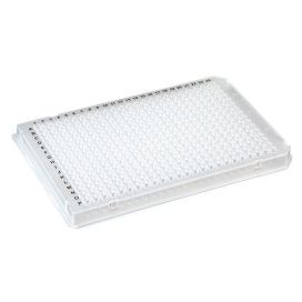 384-Well PCR Plate, A24/P24 Two Notch design (Roche-style), Clear