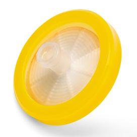 Syringe Filter, Nylon Membrane, 0.45μm Porosity, 30mm Diameter, PP Housing, STERILE, Individually Wrapped