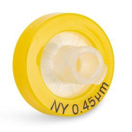 Syringe Filter, Nylon Membrane, 0.45μm Porosity, 13mm Diameter, PP Housing, Non-sterile, Bulk Packed