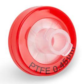 Syringe Filter, PTFE Hydrophilic Membrane, 0.45μm Porosity, 13mm Diameter, PP Housing, Non-sterile, Bulk Packed