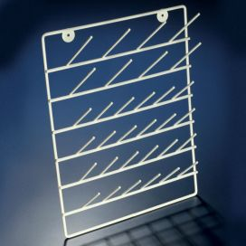 Drying Rack with Stand, 32 place, Epoxy Coated Steel