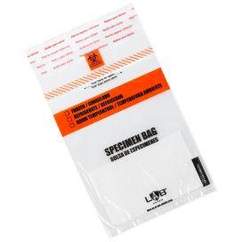 "Specimen Bag, Glue Closure, 6 x 10"", with Absorbent Pad"